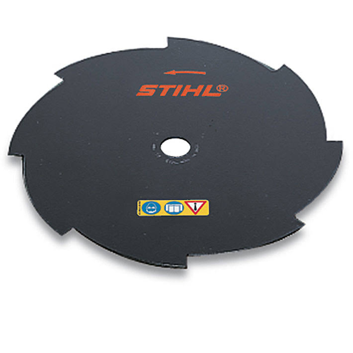 Stihl 4001 713 3803 Steel Blade - Grass 8, 25.4mm