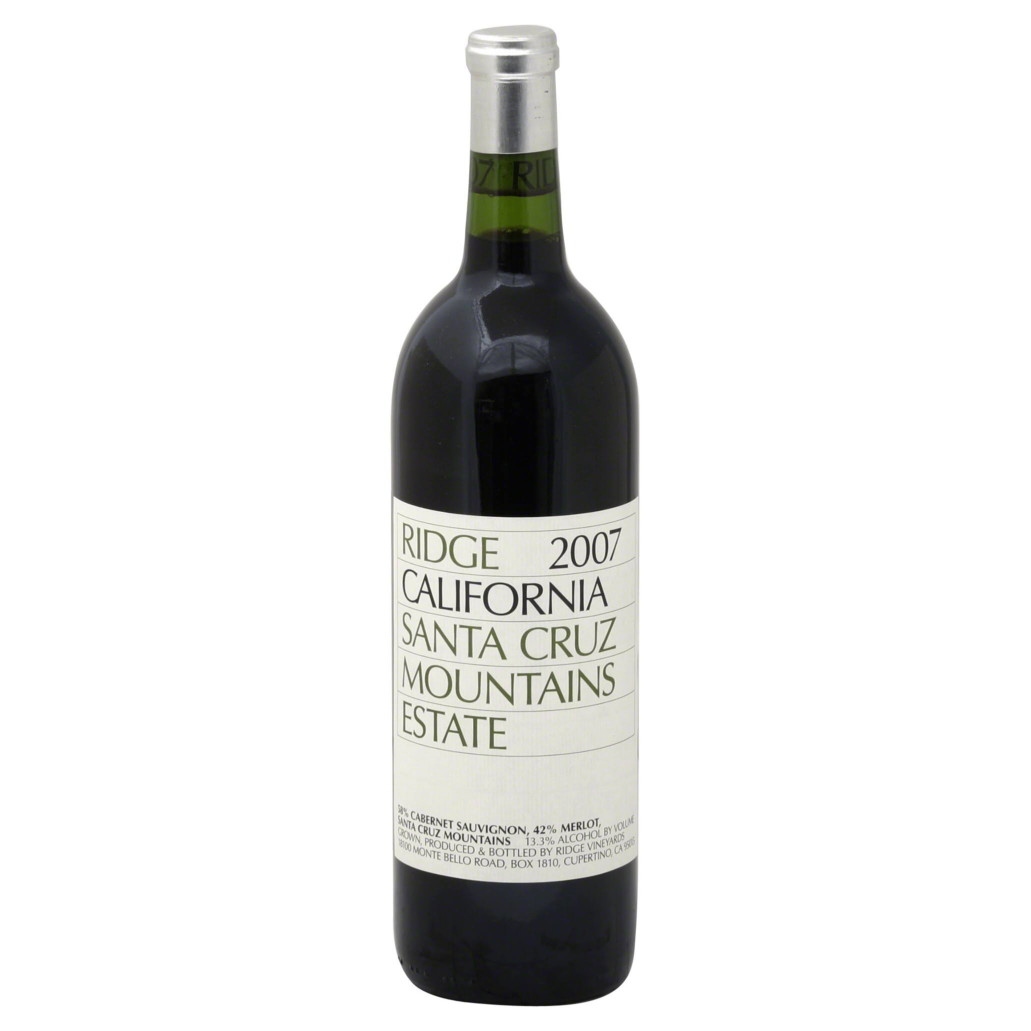 Ridge Estate Cabernet Sauvignon Wine - 750ml