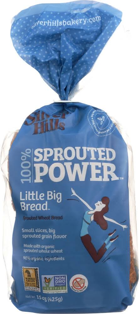 Silver Hills Sprouted Grain Little Big Bread - 15 oz pack