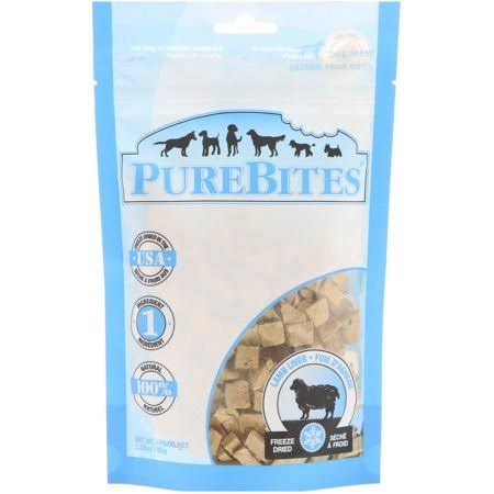 PureBites Dog Treat - Lamb Liver, 3.35oz