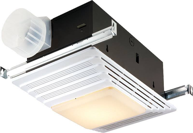Broan Ceiling Mounted HVI Heater Fan Lights - White, 70 Cfm, 4 Sone