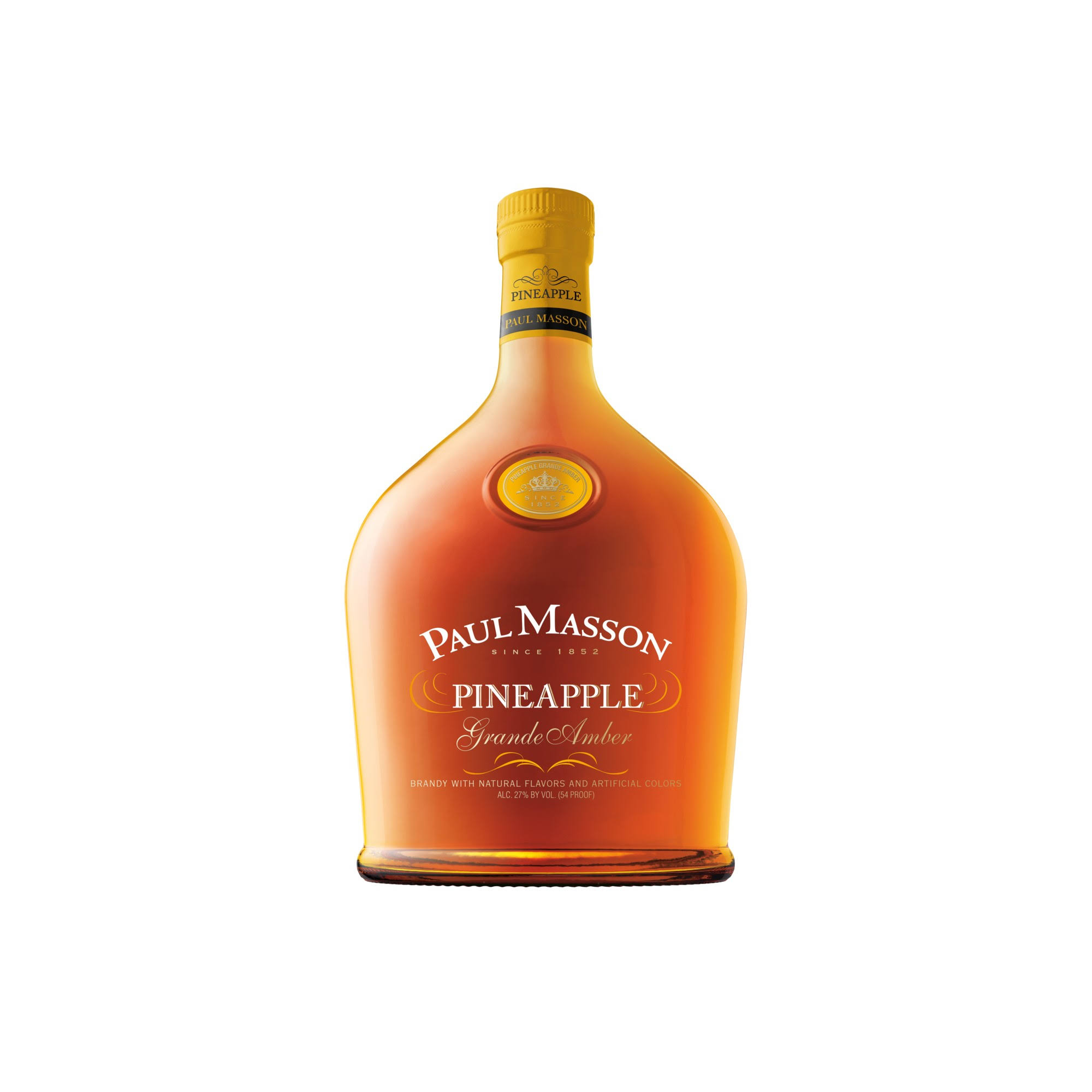 Paul Masson Brandy Grande Amber Pineapple - 750ml