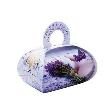 The English Soap Company Large Gift Bag Soap 260g - English Lavender
