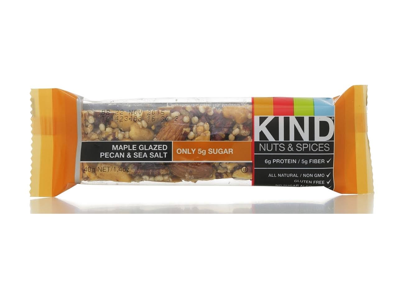 Kind Snack Bar - Maple Glazed Pecan and Sea Salt, 40ml
