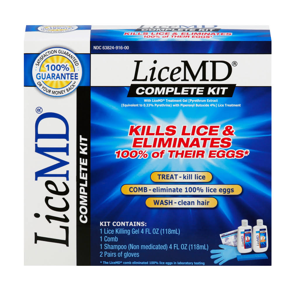 Lice Md Lice Killing Complete Treatment Kit