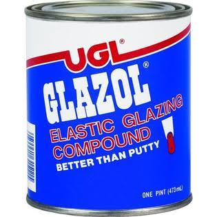 UGL 31512 1 Quart Glazol Glazing Compound