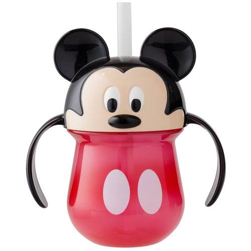The First Years Disney Baby Insulated Straw Cup - Mickey Mouse, 7oz