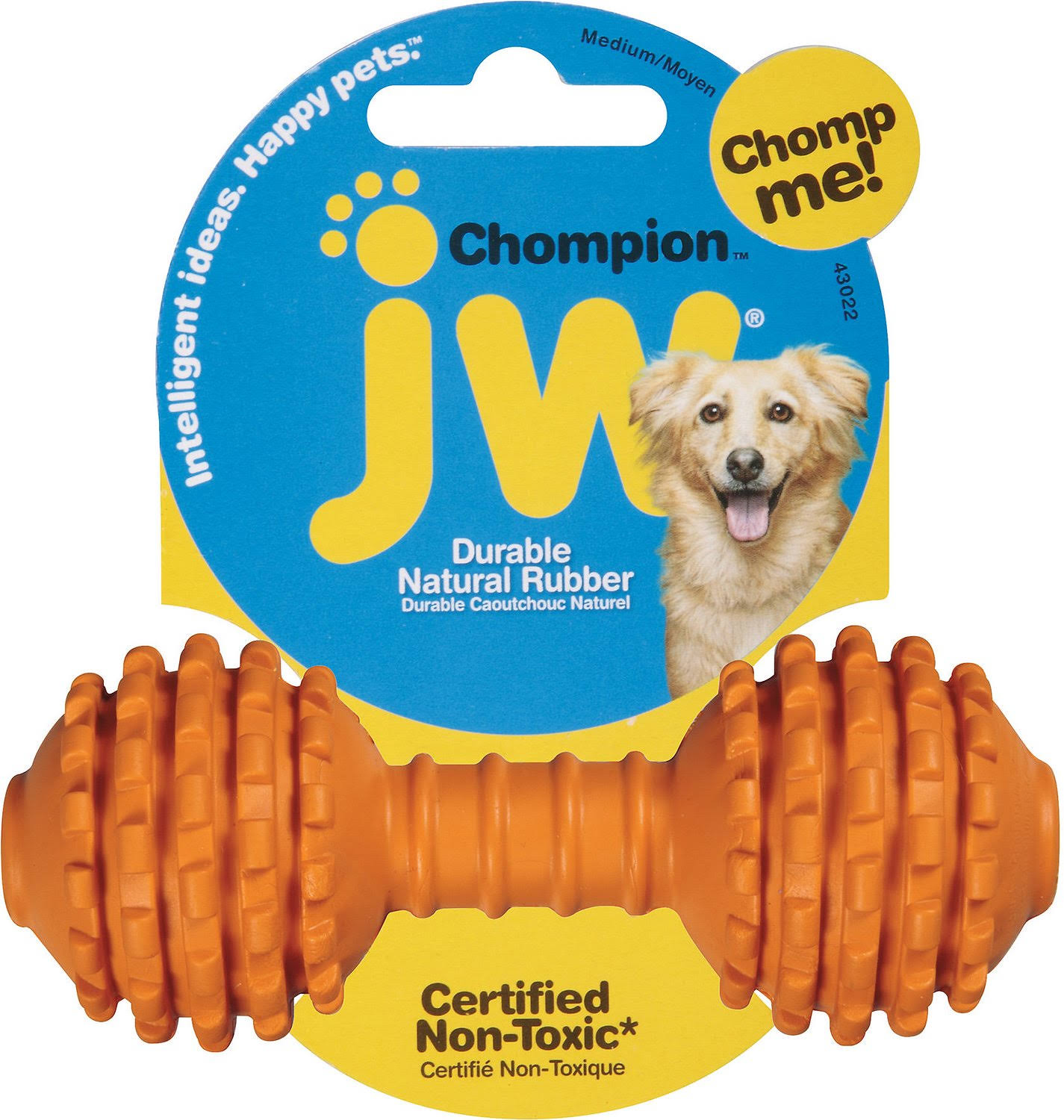 JW Pet Company Chompion Dog Toy - Medium