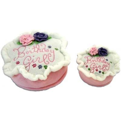 Birthday Girl Plush Dog Toy (Small)