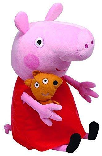 Ty Beanie Babies - Peppa Pig With Plush Teddy