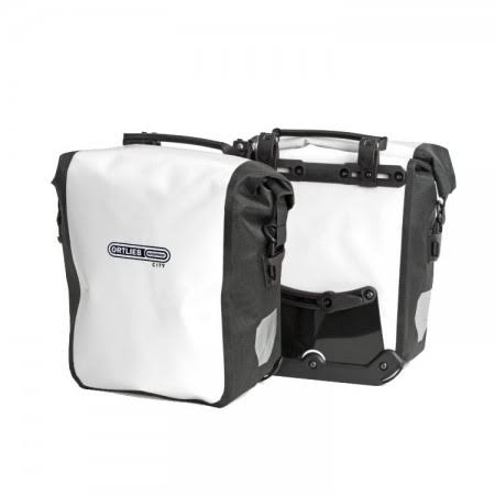 Ortlieb Front-Roller City Front Pannier - White & Black