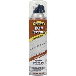 Homax Wall Knockdown Spray Texture - Water Based, 20oz