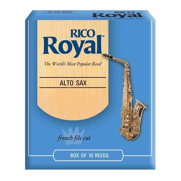 Rico Royal Alto Sax Reeds - Strength 3, 10 Pack