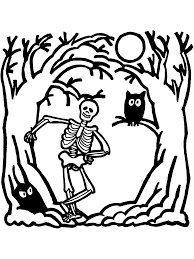 Childrens Halloween Books Pdf by Halloween Coloring Page Skeleton Primarygames Play Free