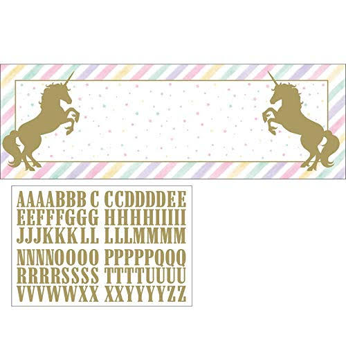 Unicorn Sparkle Giant Banner