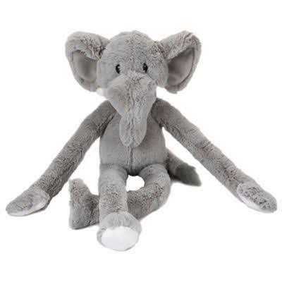 Multipet Swingin Safari Elephant Plush Toy