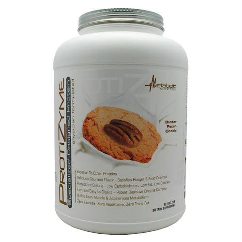 Metabolic Nutrition Protizyme 5 lbs - Butter Pecan Cookie