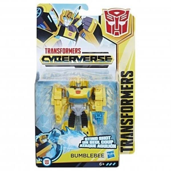 Transformers Cyberverse Action Attackers Warrior Class Action Figure - Bumblebee