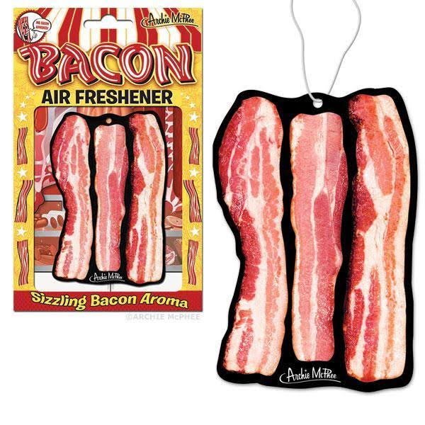 Archie McPhee Deluxe Air Freshener - Bacon Scented