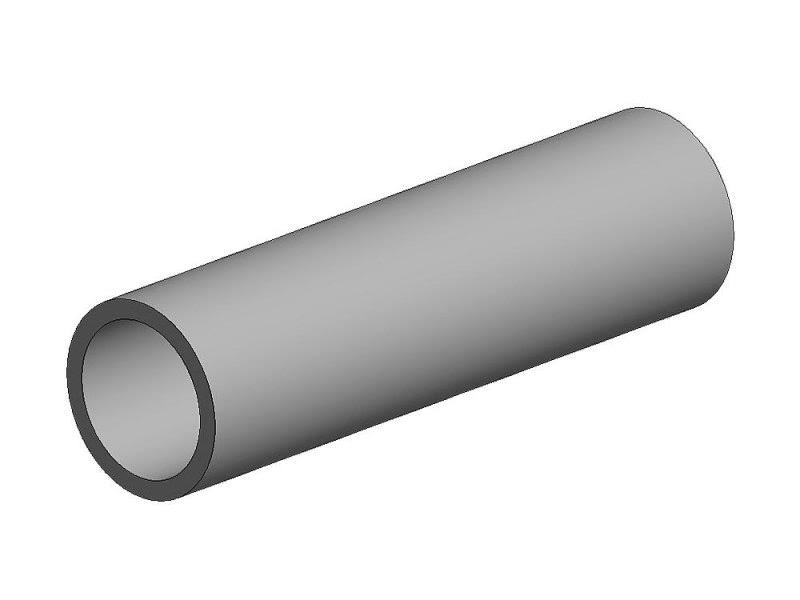 K&S Aluminum Tube 3/16 7/32 1/4 Bendable (3) 5074