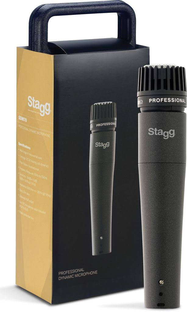 Stagg Professional Dynamic Microphone - with XLR Cable