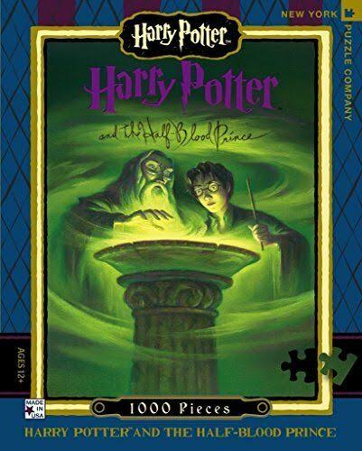 New York Puzzle Company Harry Potter and the Half-Blood Prince 1000-Piece Jigsaw Puzzle