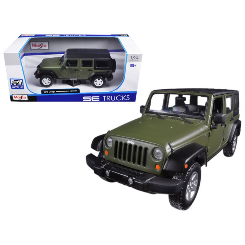 Maisto Special Edition Trucks 2015 Jeep Wrangler Unlimited Diecast Veh