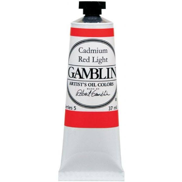 Gamblin Artist's Oil Color - Cadmium Red Light, 37ml