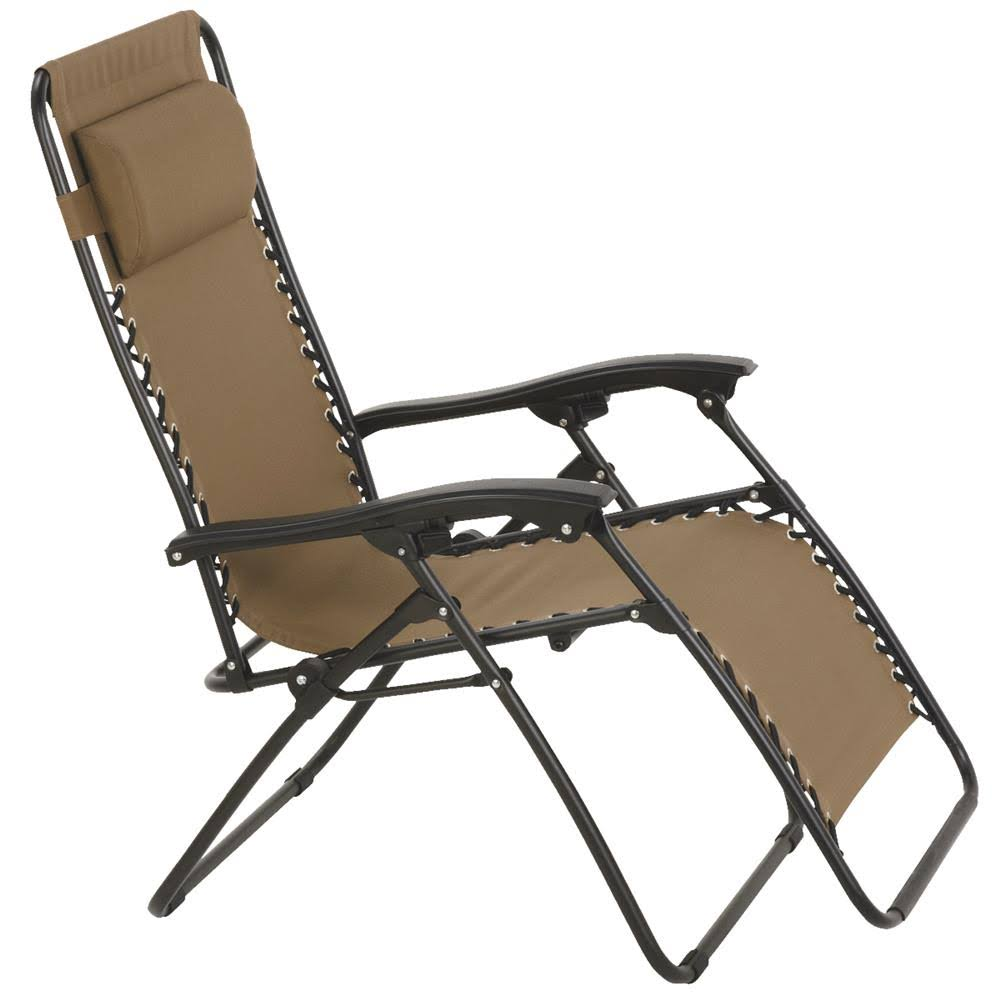 Outdoor Expressions Zero Gravity Relaxer Lounge Chair
