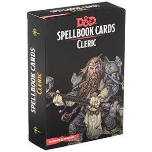 Dungeons and Dragons Spell Book Cleric Deck Card Game
