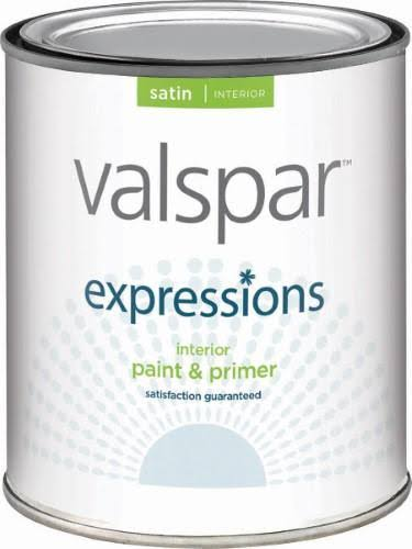 Valspar Paint - Satin Clear, 1qt