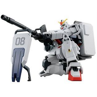 Bandai Hguc 210 Gundam Ground Type Model Kit - Scale 1:44