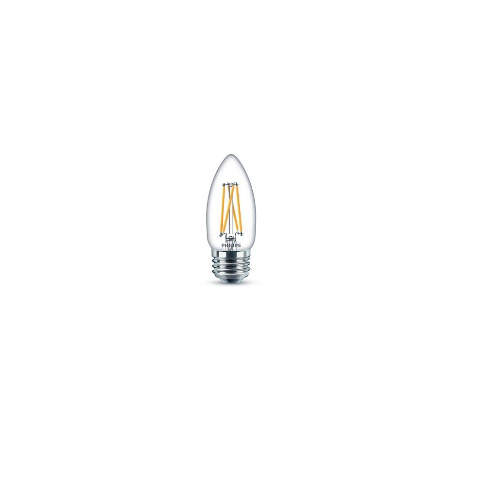 Philips Vintage B11 Led Bulb - Clear, 9 Watt