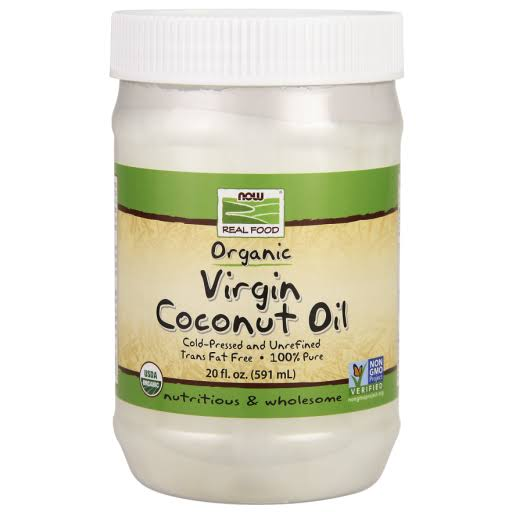 Now Foods Organic Virgin Coconut Oil - 20 fl oz jar