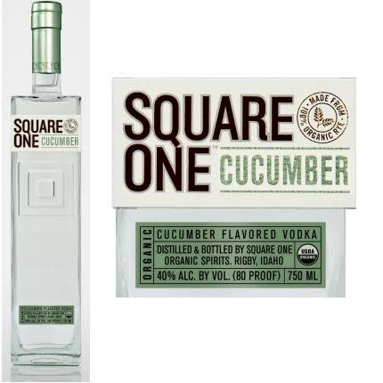 Square One Cucumber Vodka - 750 ml bottle