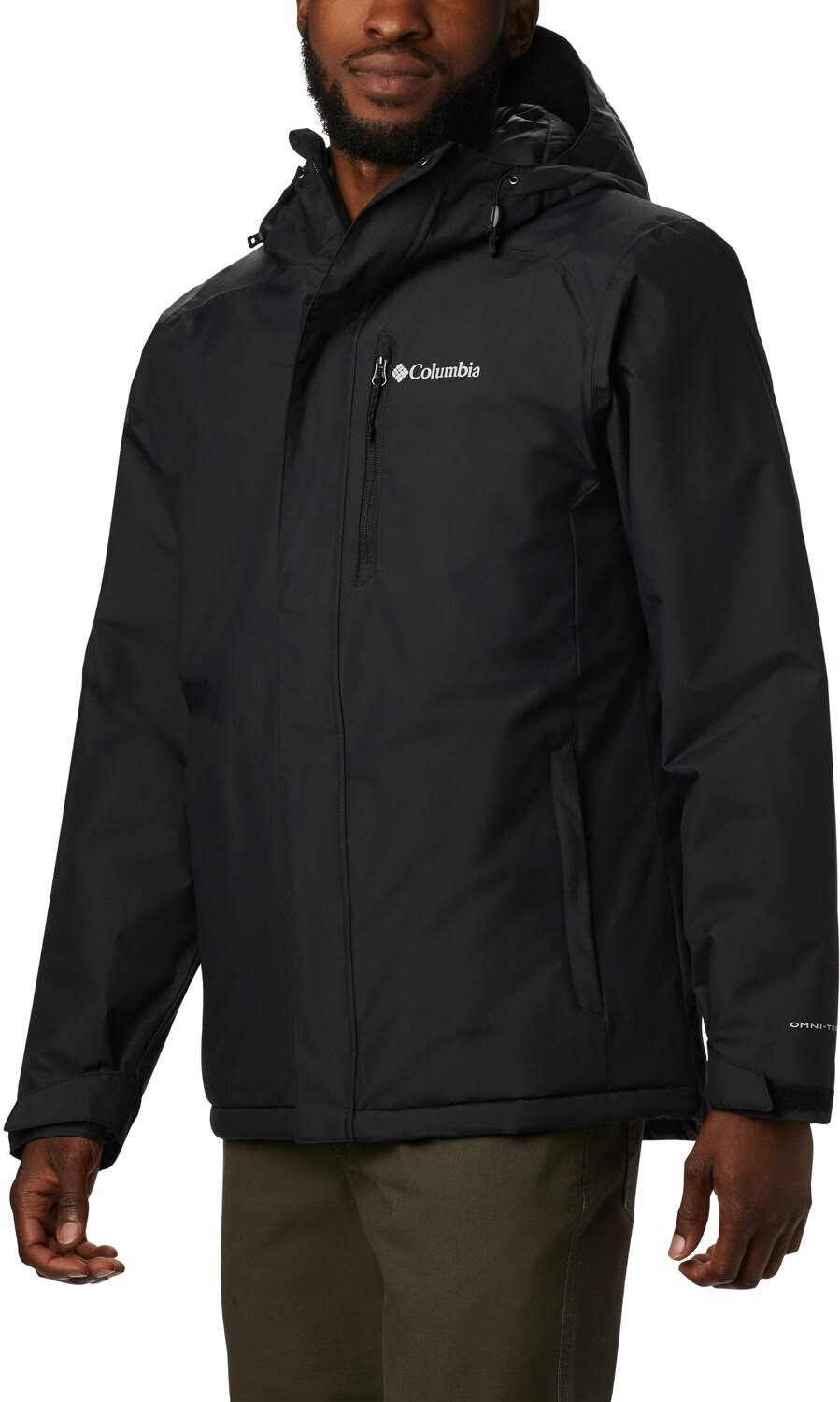 Columbia Men ' S Tipton Peak Insulated Jacket - Black