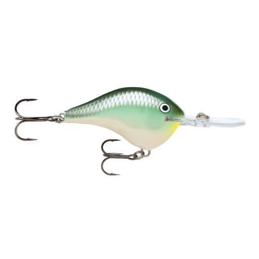 Rapala Dt06bbh Dives to Back Herring Fishing Lure - Size 6, Blue
