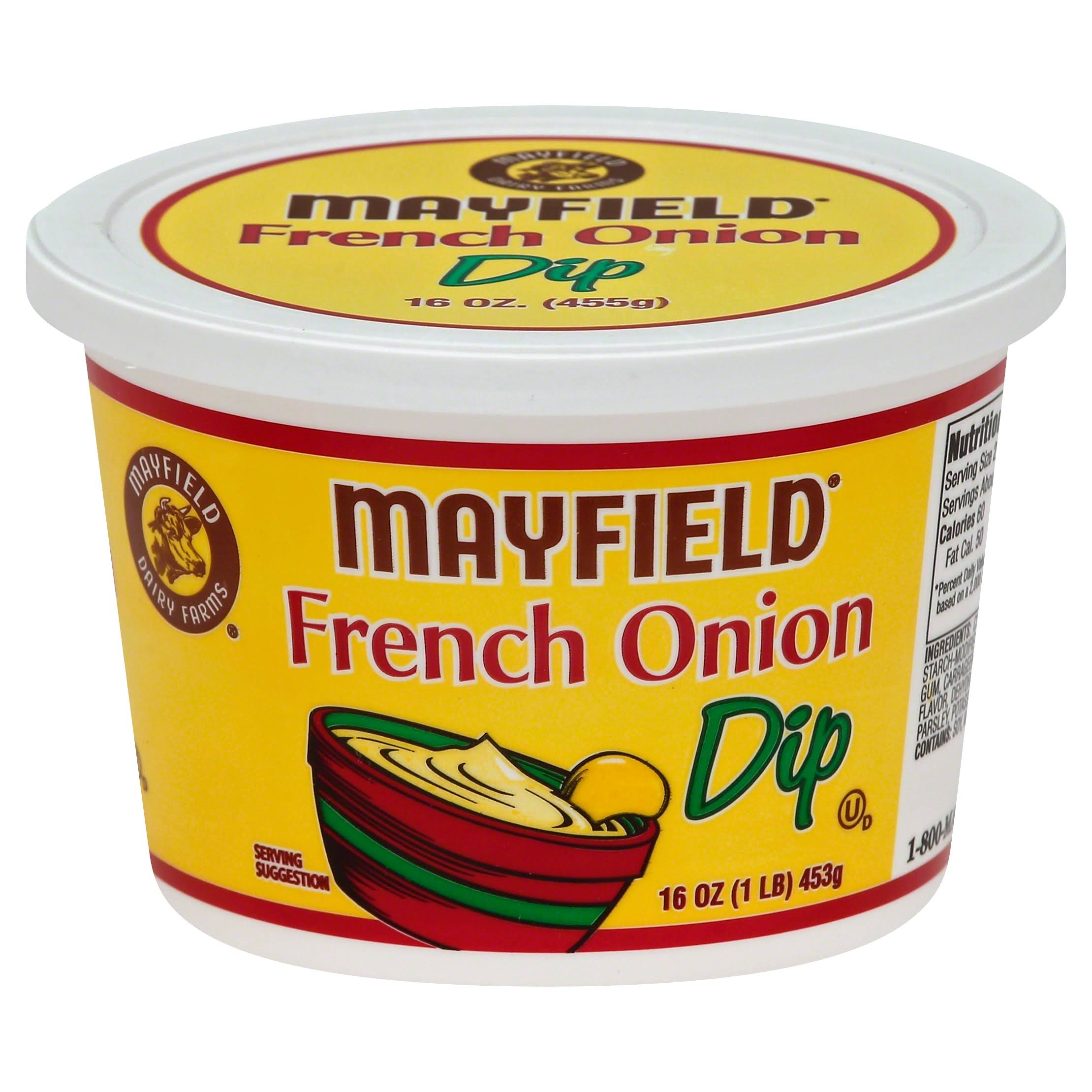 Mayfield Dip, French Onion - 16 oz