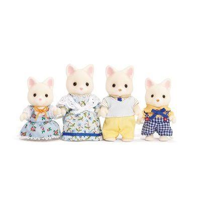 Calico Critters Silk Cat Family Play Set