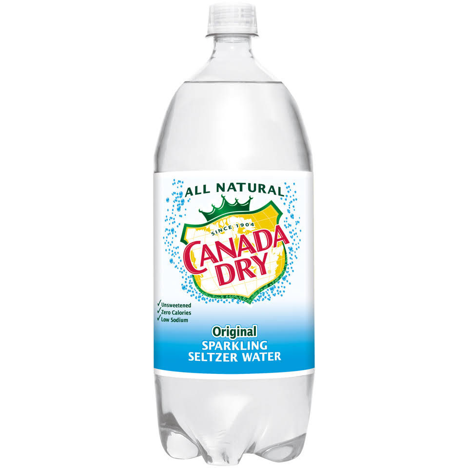 Canada Dry All Natural Sparkling Seltzer Water