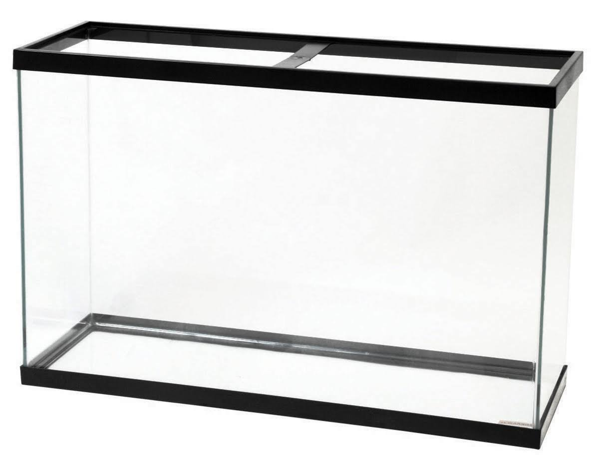 Aqueon Standard Rectangular Aquarium Tank, 45 Gallon