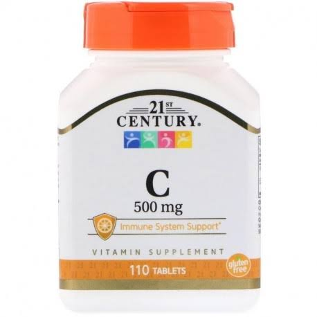21st Century Vitamin C Supplement - 500mg, 110tabs