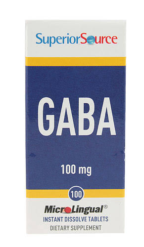 Superior Source Gaba Multivitamins Supplement - 100mg, 100ct