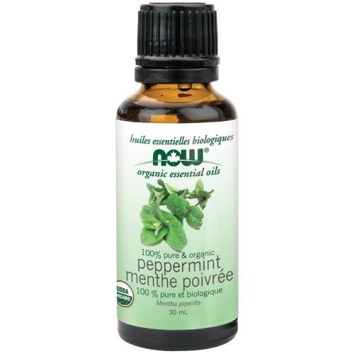 Now Organic Peppermint Oil (30 ml)