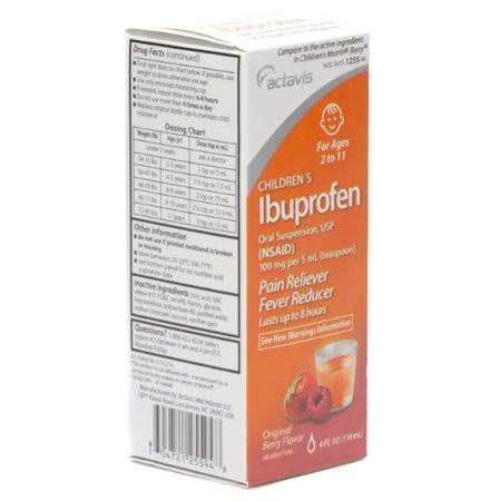 Major Pharmaceuticals Children's Ibruprofen Oral Suspension - 118ml