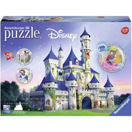 Ravensburger Disney 3D Castle Jigsaw Puzzle - 216pcs