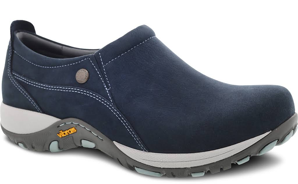 Women's Dansko Patti - Navy Milled Nubuck 38