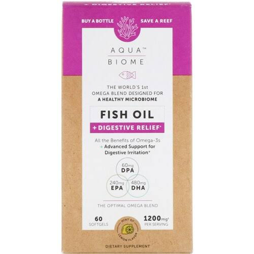 Aqua Biome Fish Oil Digestive Relief