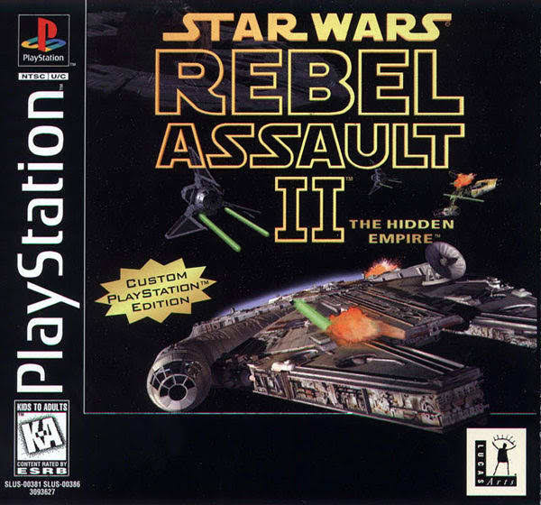 Star Wars Rebel Assault II - The Hidden Empire
