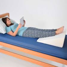 Jobri Spine Reliever Bed Wedge by Bed Wedge Dmi Ortho Bed Wedge Elevated Leg Pillow Supportive